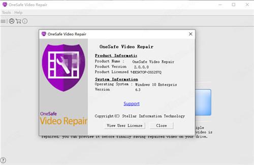 OneSafe Video Repair破解版基本介绍