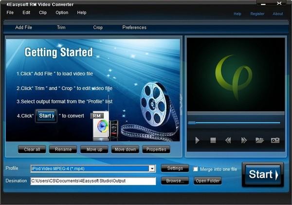 4Easysoft RM Video Converter下载截图1