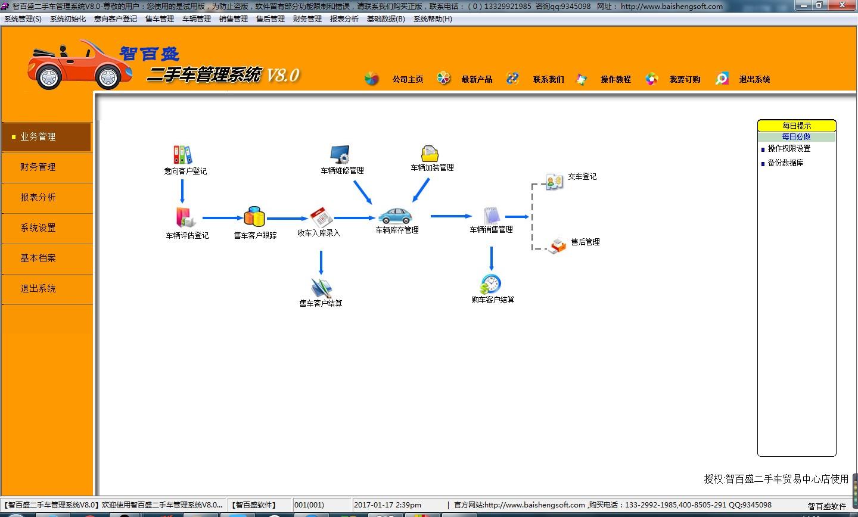 智百盛二手车管理软件截图1