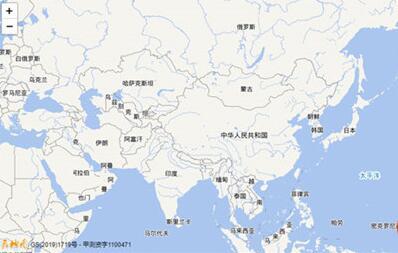天地图高清卫星地图