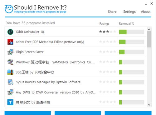 Should I Remove It软件功能