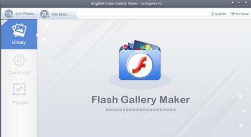 iOrgsoft Flash Gallery Maker