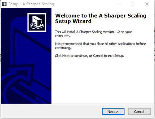 A Sharper Scaling软件功能
